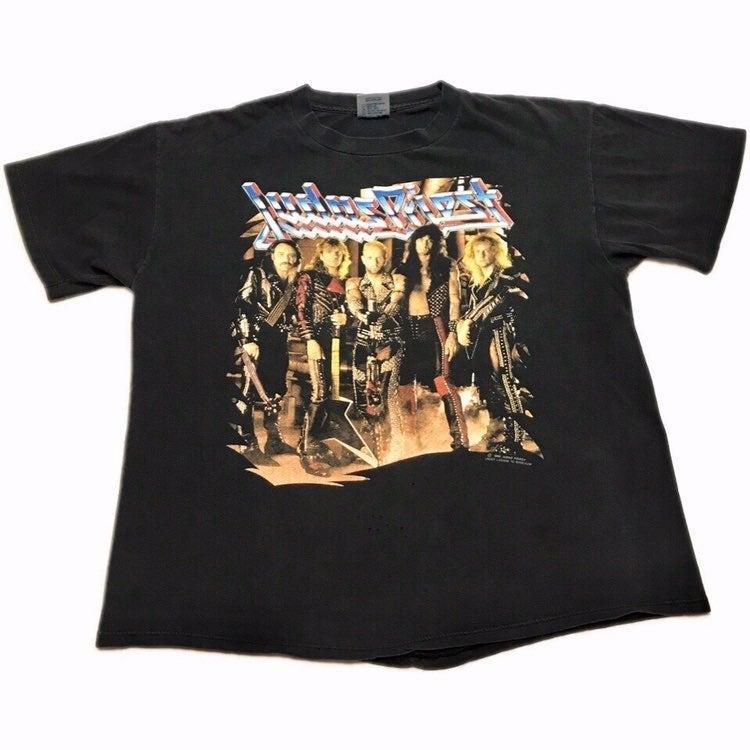 Vintage 1990 Judas Priest Tour T Shirt