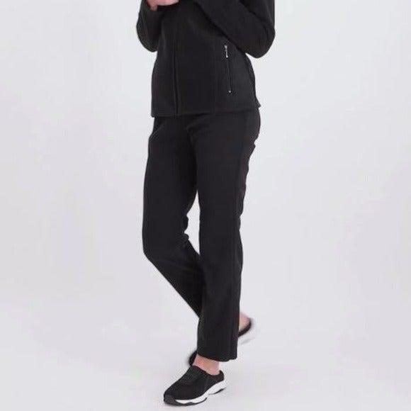 Karen Scott petite micro fleece pants