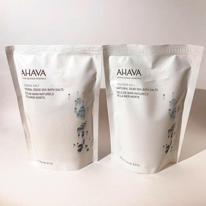 Ahava Natural Dead Sea Bath Salts Set