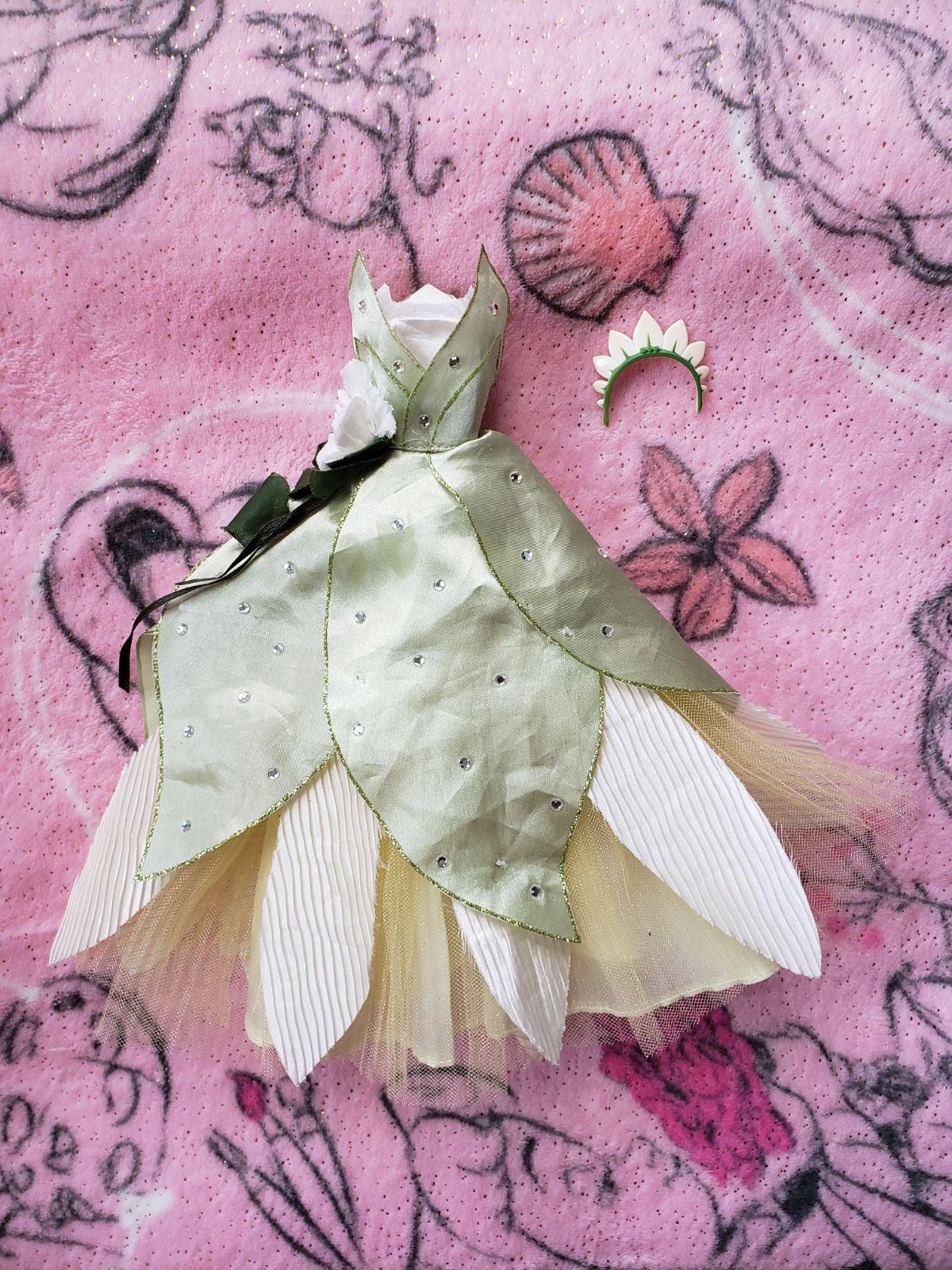 Disney Doll Tiana Wedding Dress