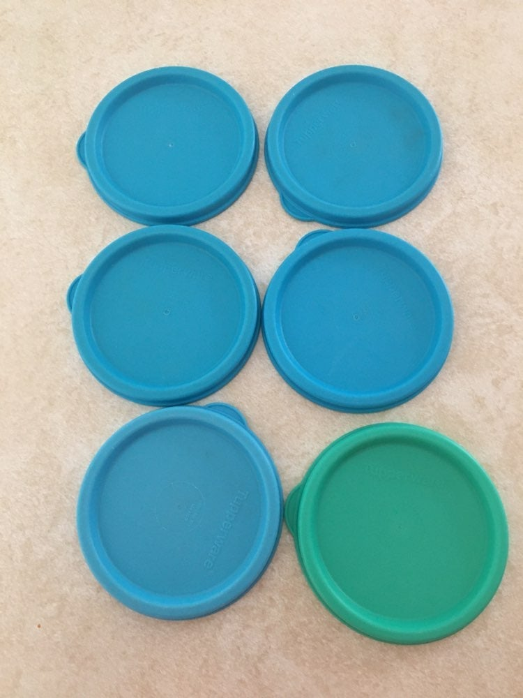 Tupperware Snack cup lids (6)