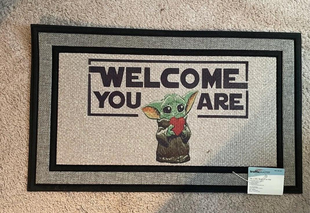 Star Wars Grogu baby Yoda Doormat