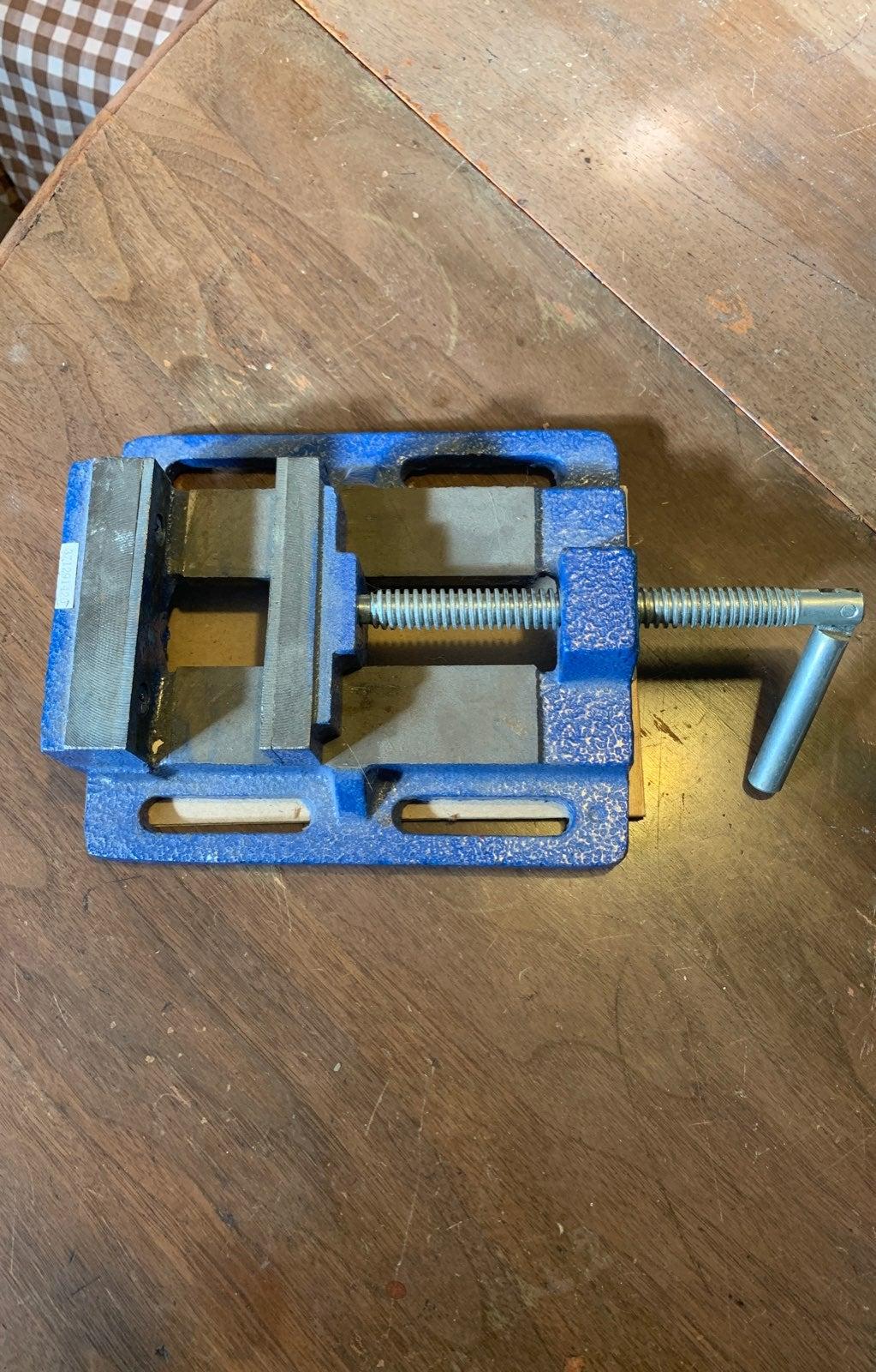 """Forge 4""""! Drill press vice"""