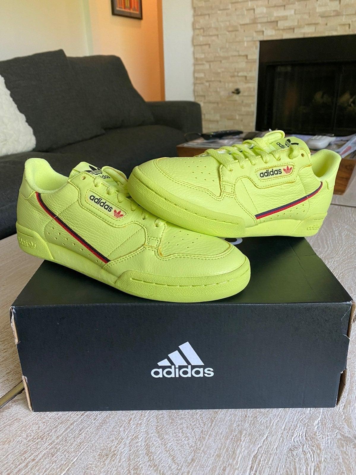 Adidas Continental 80 Semi Frozen Yellow
