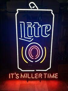 Miller Lite Neon Sign