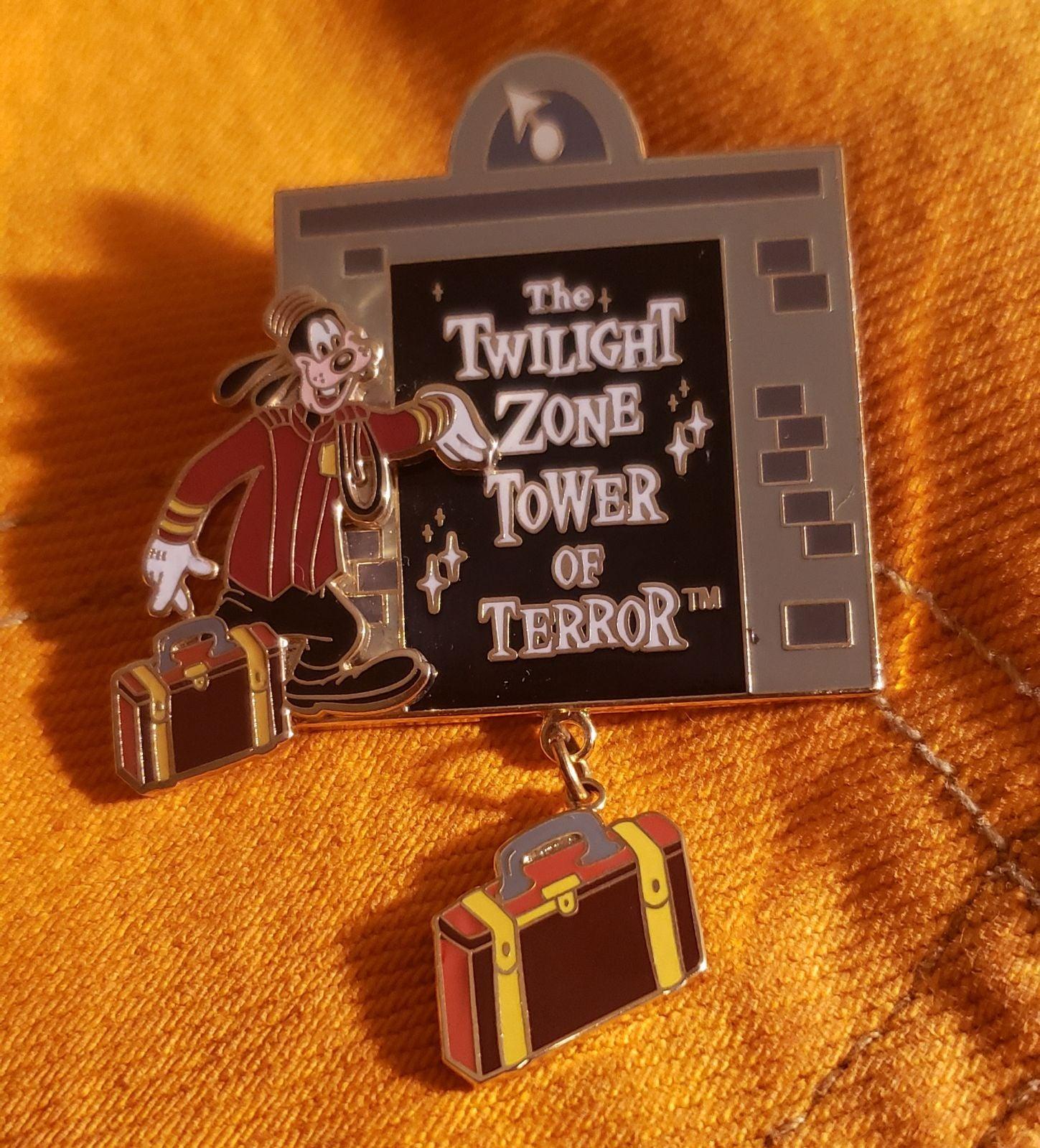 Goofy Twilight Zone Tower of Terror Pin
