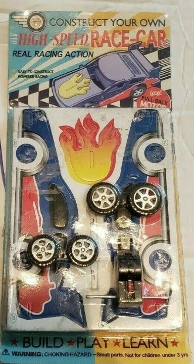 Make Your Own Race Car Kit Craft Model