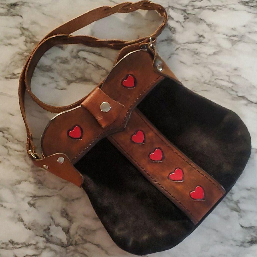 Unbranded leather crossbody
