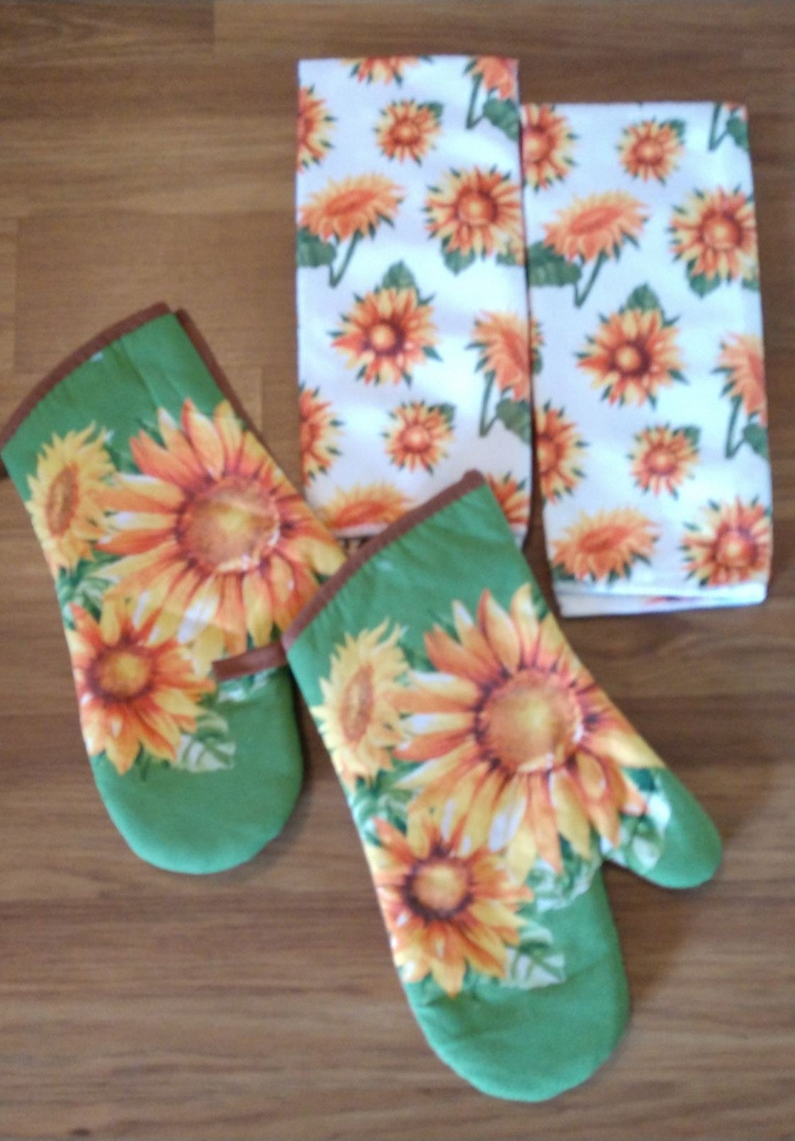 Farmhouse Sunflower Kitchen Towel Set