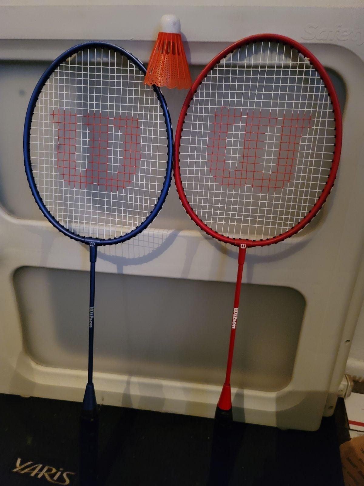 Wilson Badminton Racket Set With bag