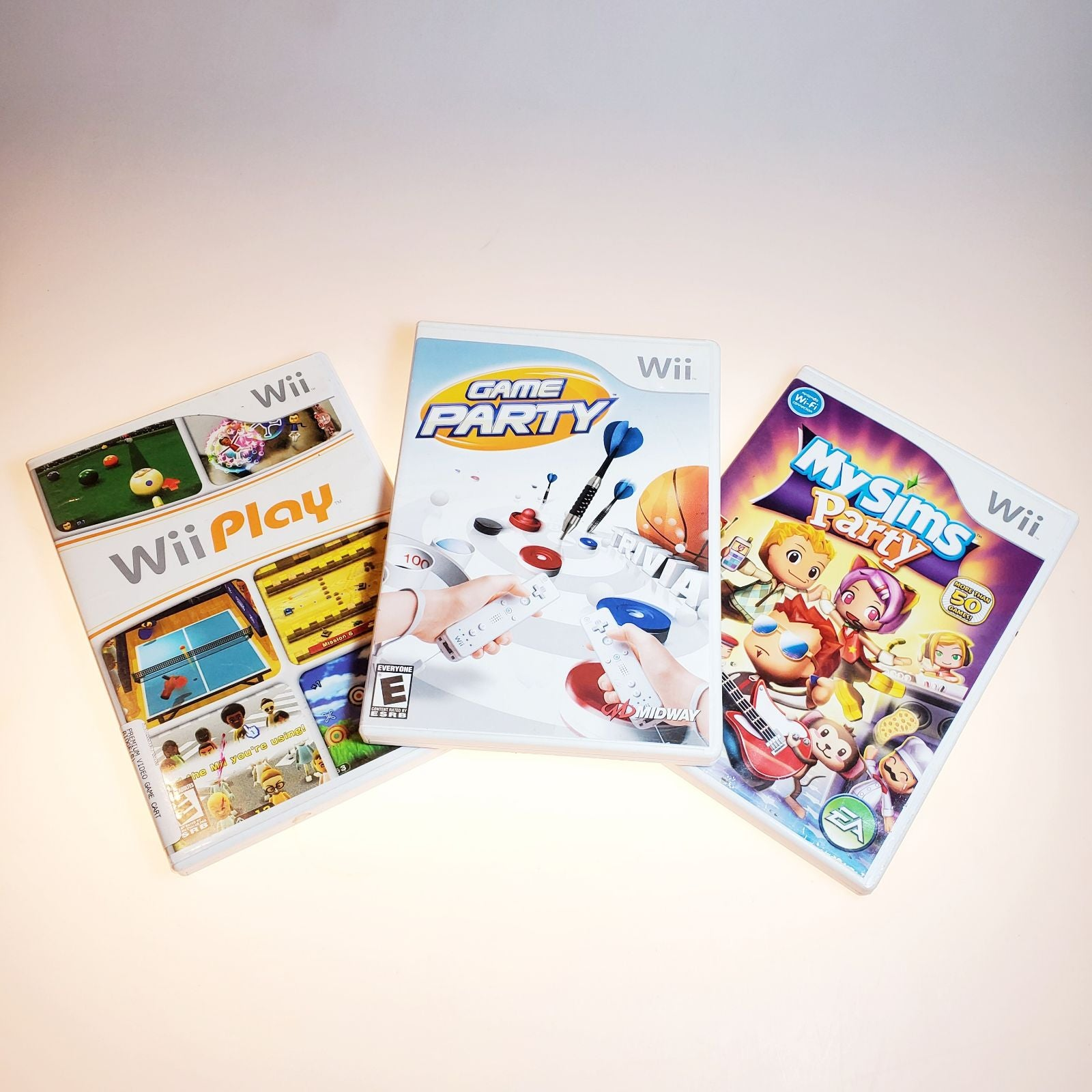 Wii family game lot