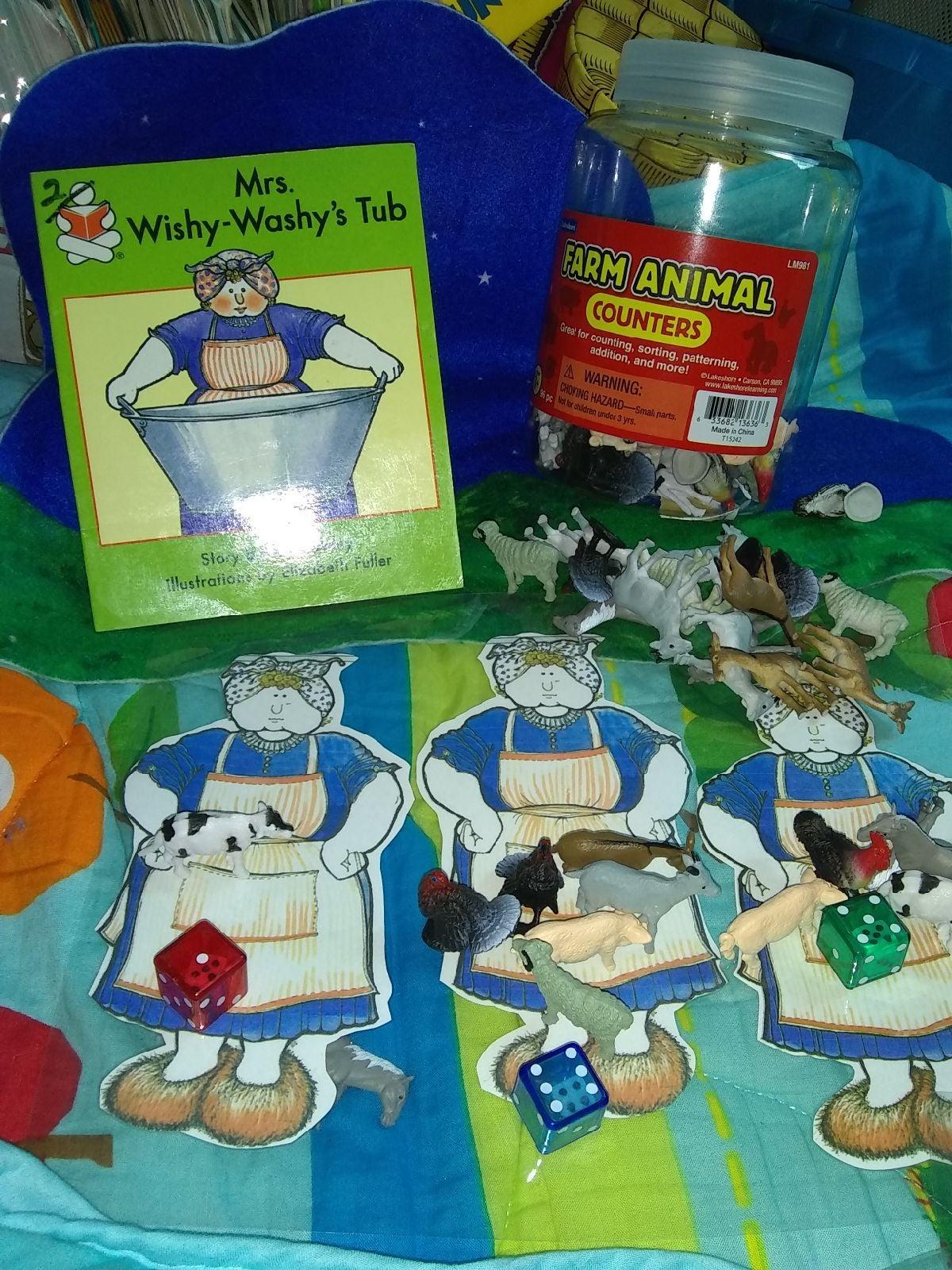 Lakeshore & Wishy Washy's Tub counting