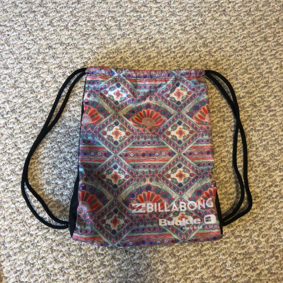Billabong x Buckle Drawstring Bag