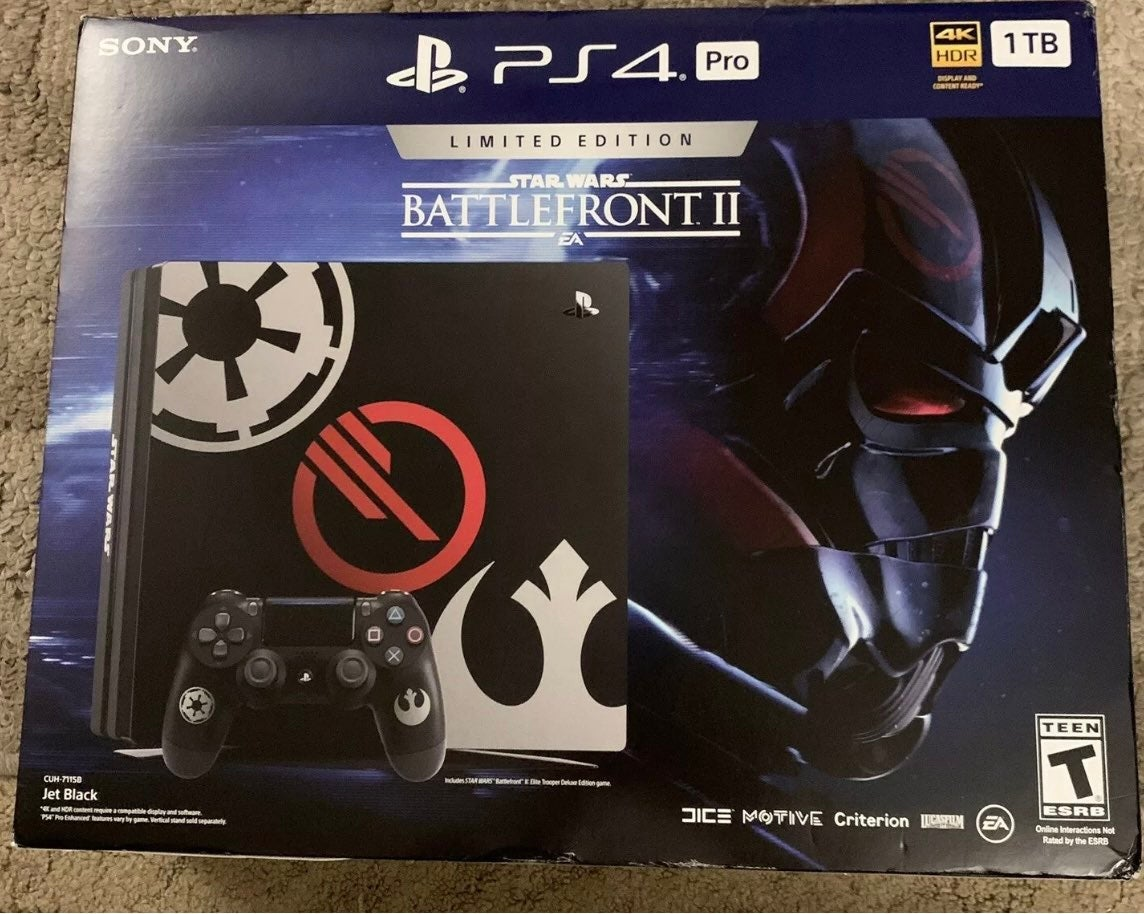 Playstation 4 Star Wars Console Pro