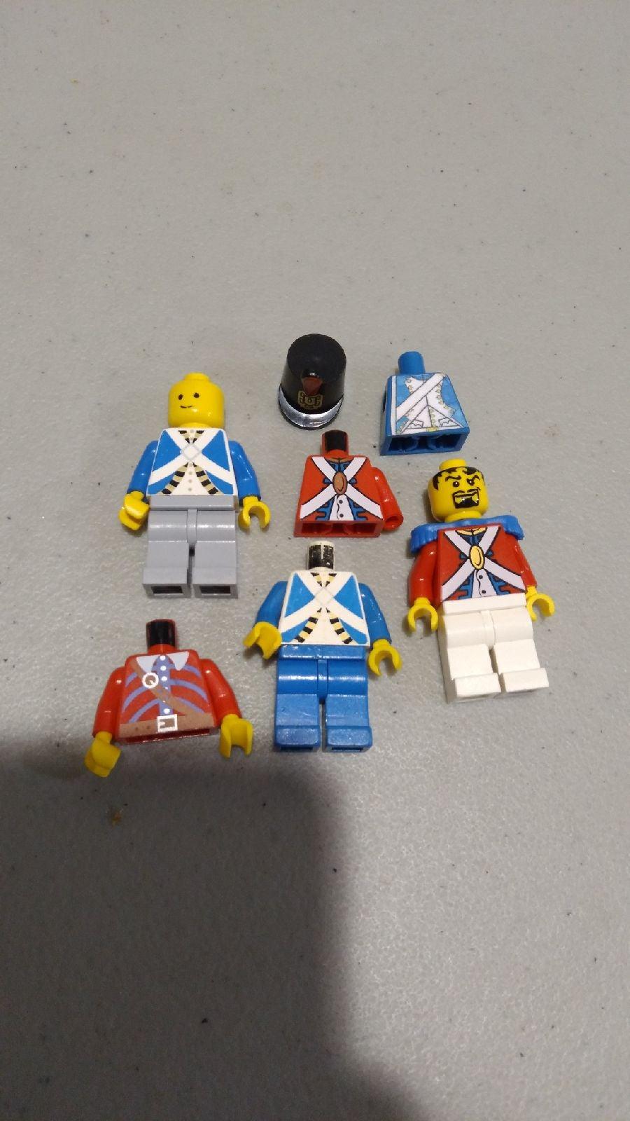 Lego Old War Minifigures (4)