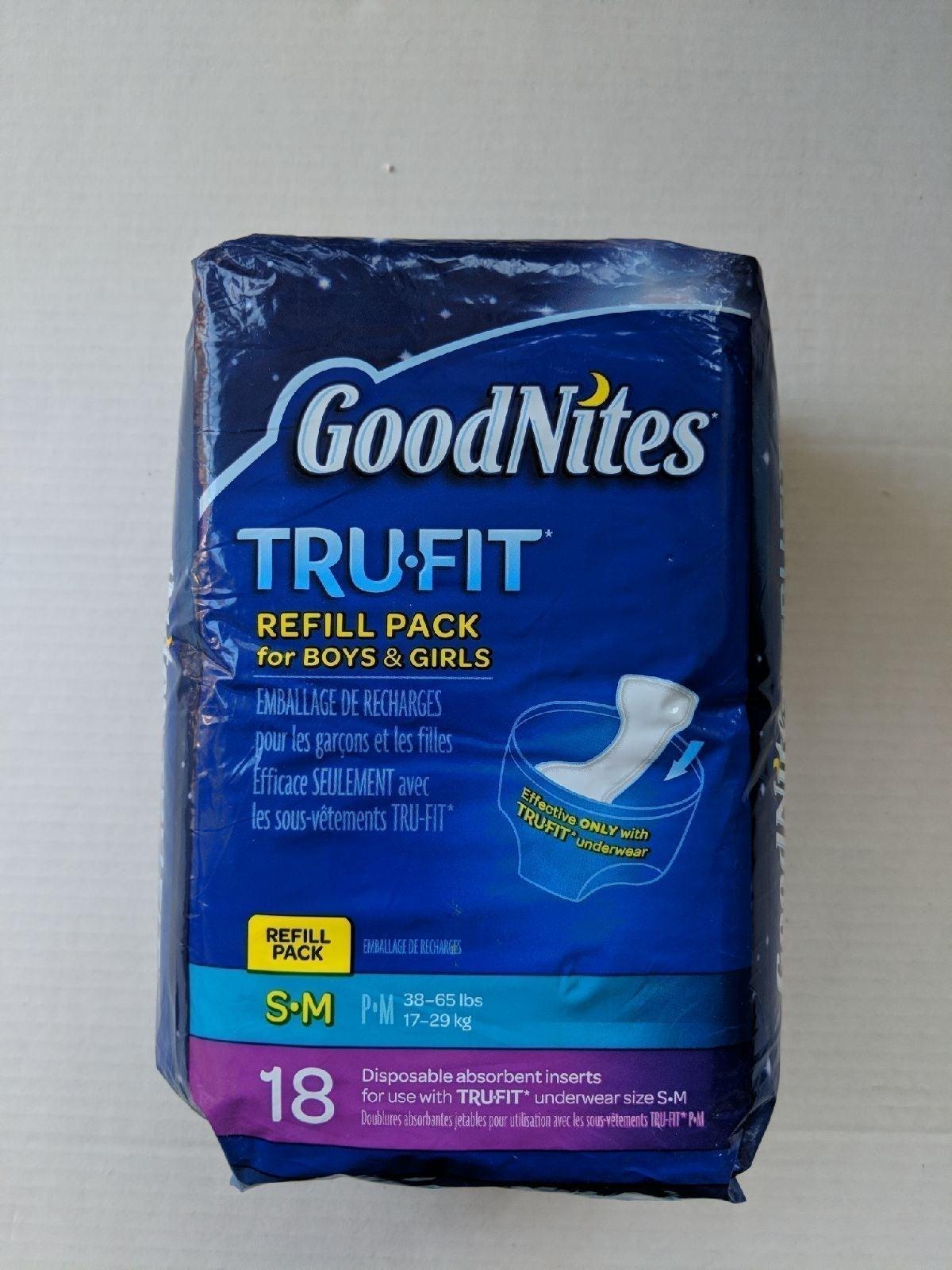 GoodNites Tru Fit Refill Pack S/M 18ct