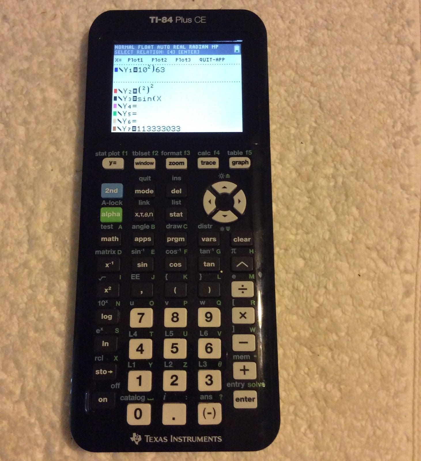 Texas Instruments TI-84Plus CE