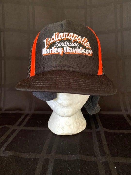 HARLEY DAVIDSON INDIANOPOLIS TRUCKER HAT