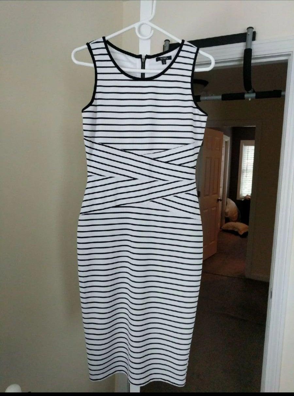 Long Mid Claf Length Dress