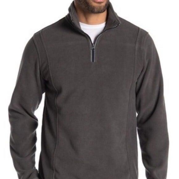Vintage 1946 Fleece Quarter Zip Pullover