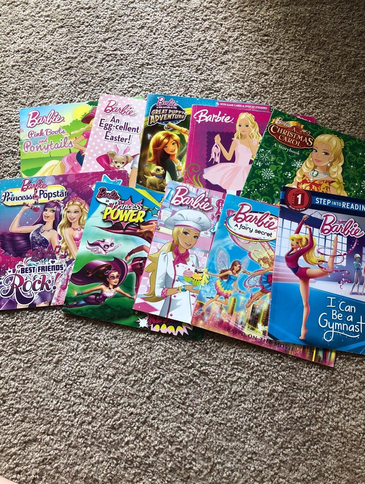 Barbie Book Bundle of 10