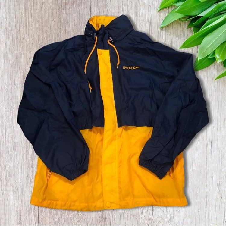 Retro Speedo Windbreaker Jacket