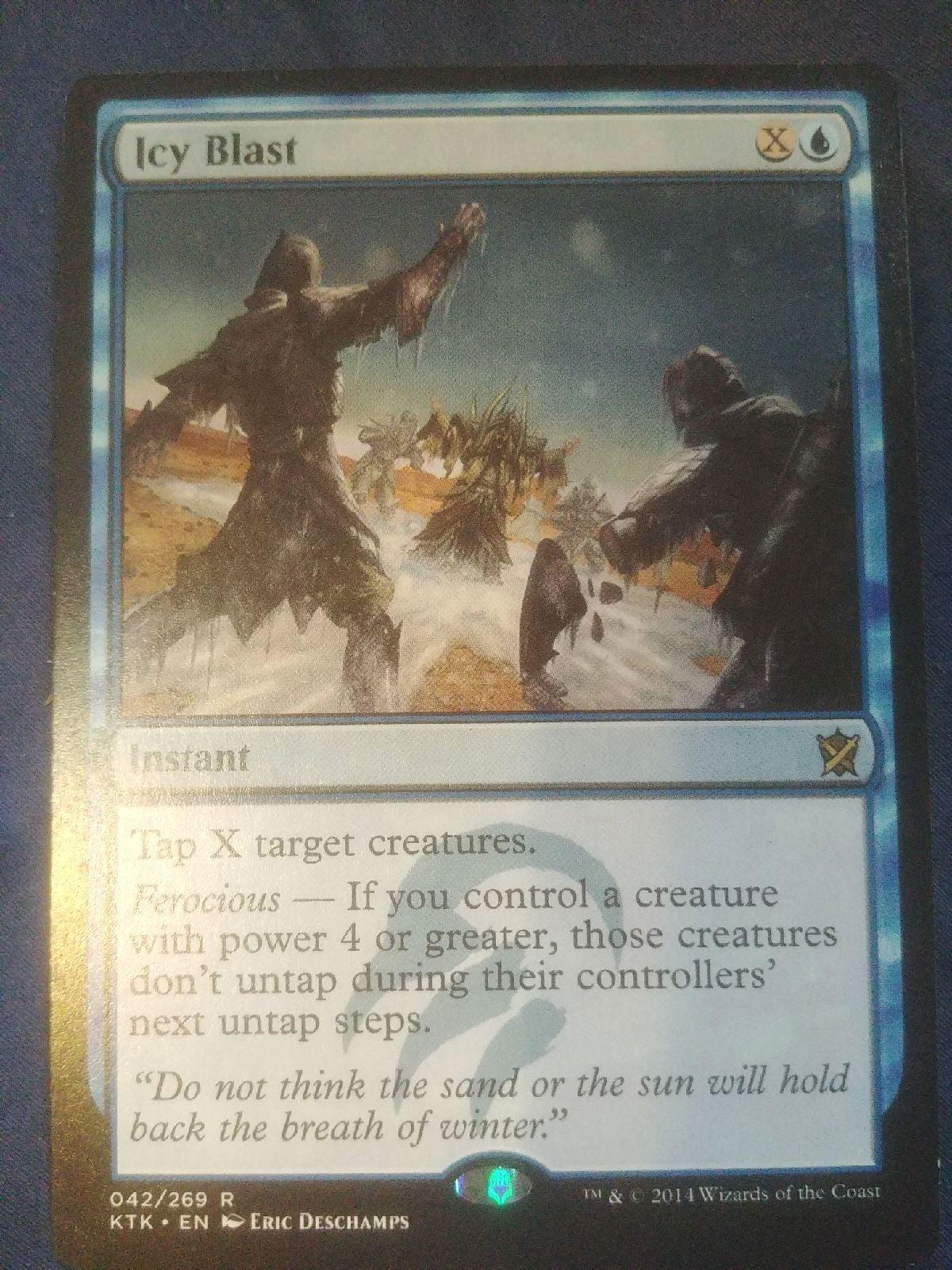 MTG Icy Blast