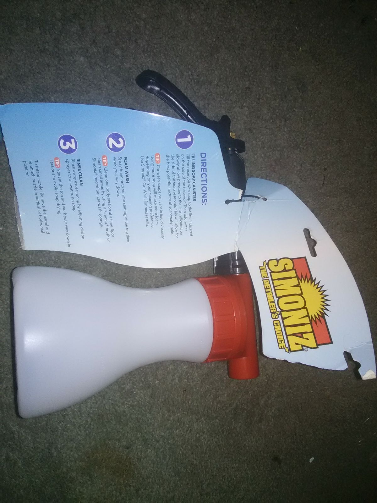 spray foamer for home & auto