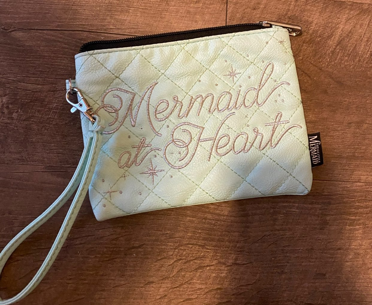 Disney The Little Mermaid wristlet bag