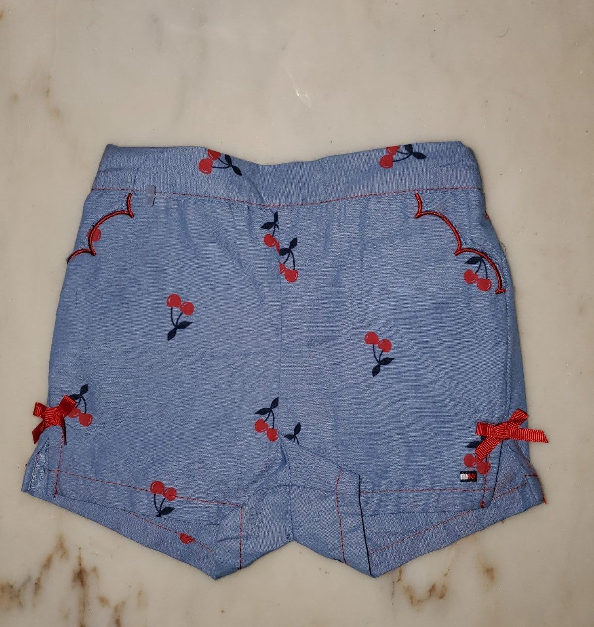 Tommy Hilfiger Cherry Shorts 3-6mos