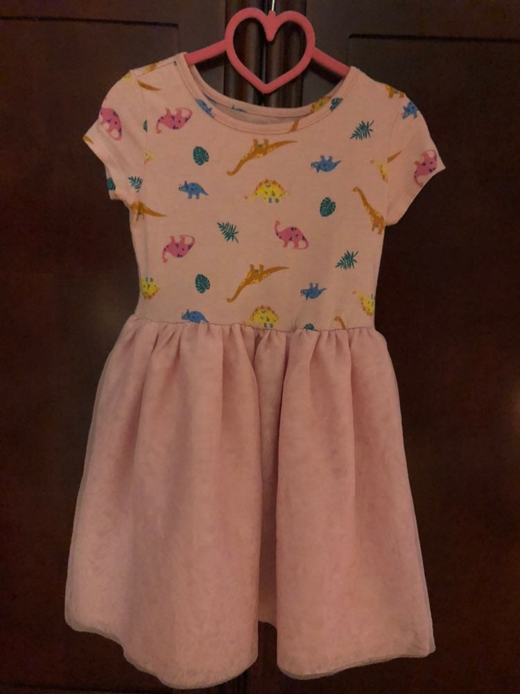 Toddler Dress Size 4T in Pink by Okie Do