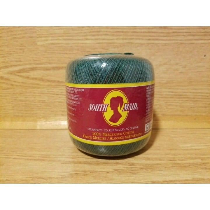 South Maid Crochet Cotton Thread, Green