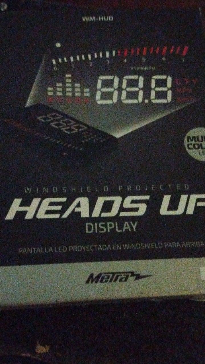Windshield Display