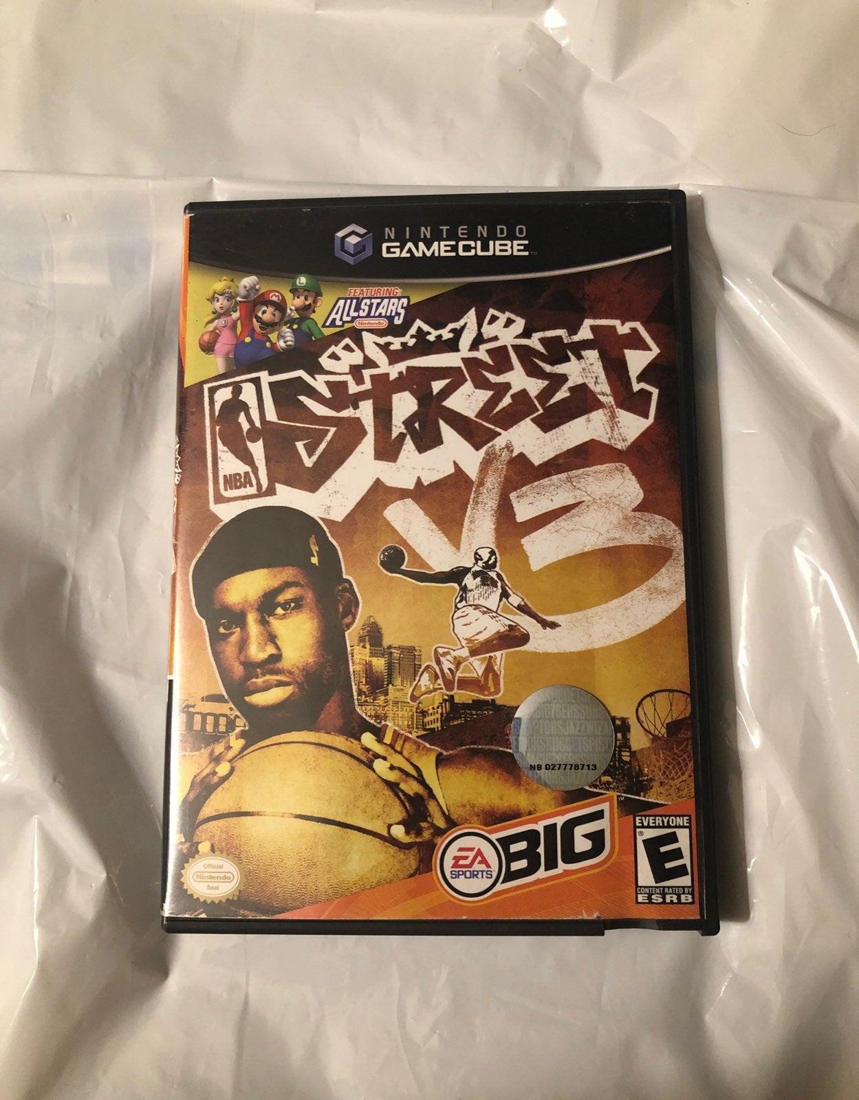 NBA Street V3 on Nintendo GameCube