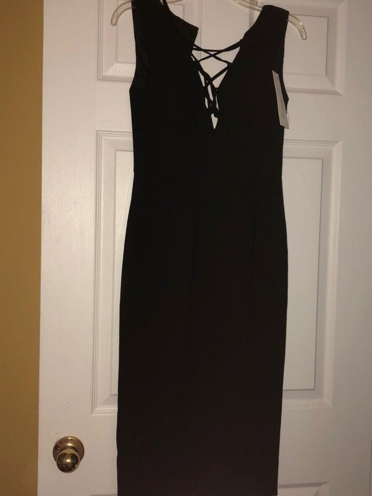 Nicholas Black Crepe Dress