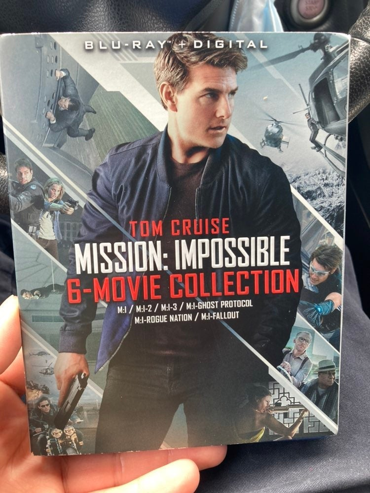 Mission Impossible complete set Blu Ray