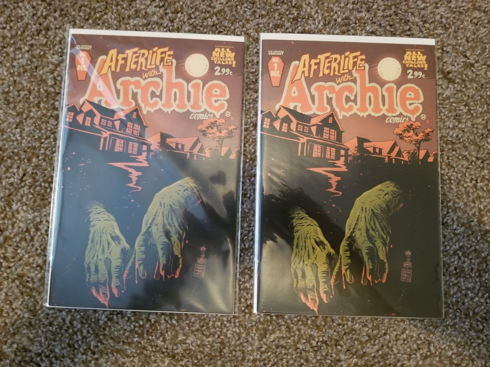 Afterlife with Archie #1! TWO copies! HO