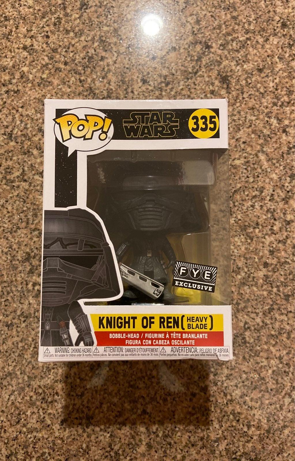 Funko Pop 335 Knight of Ren Heavy blade
