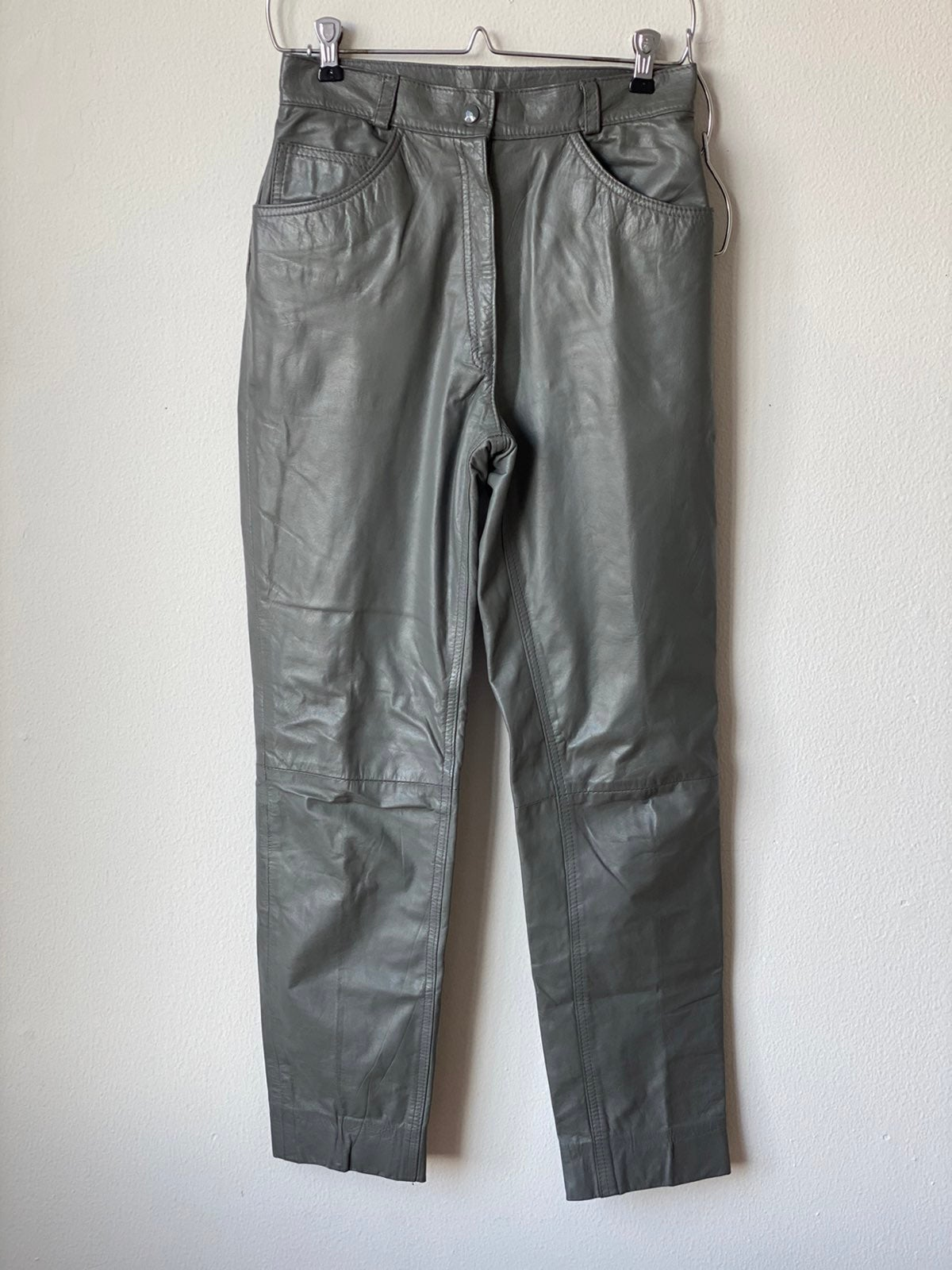Vintage Golden Bear Leather Pants Sz 8
