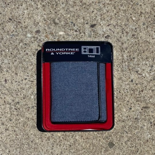 Roundtree & Yorke Tri-Fold Wallet