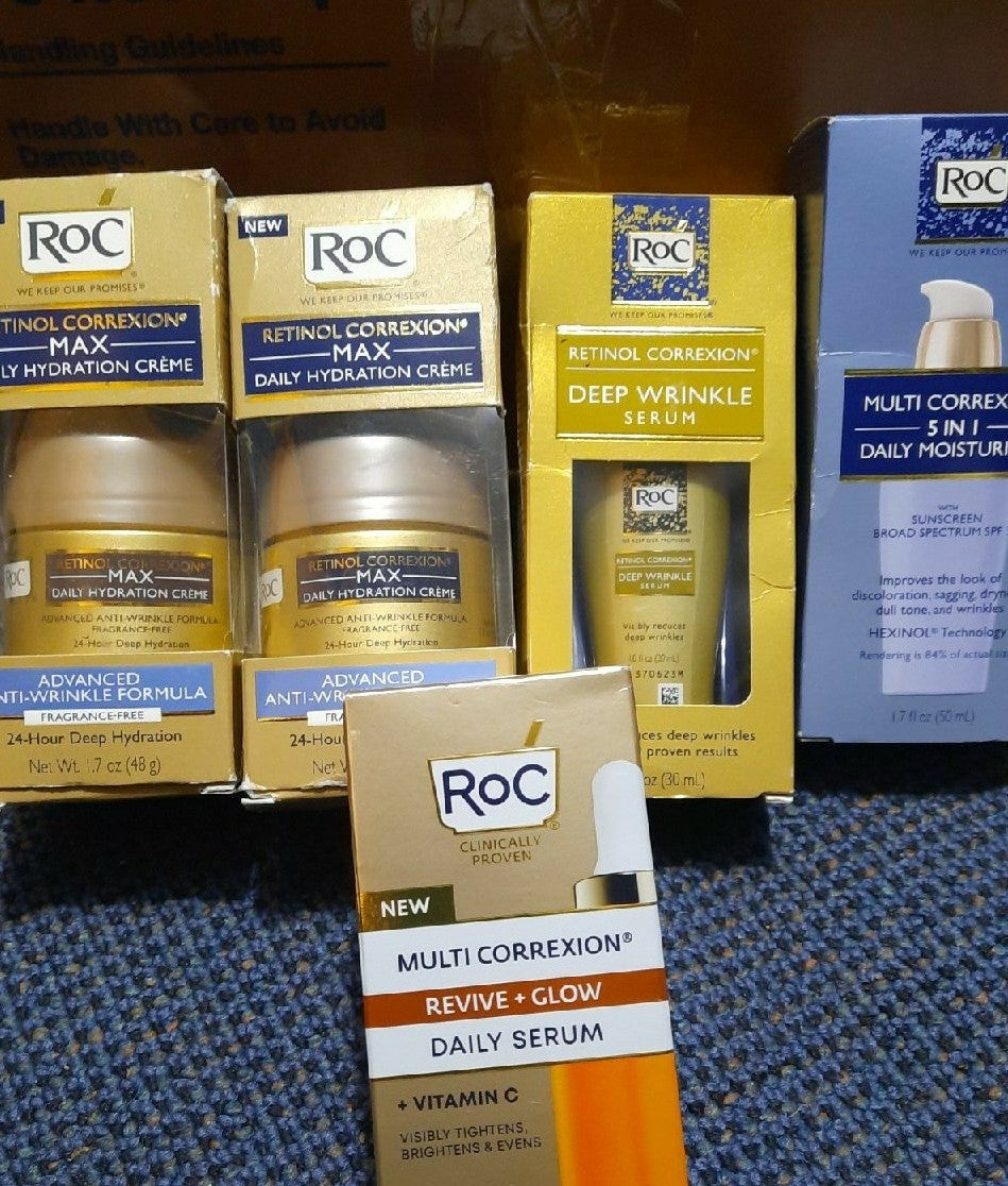 Roc retinol lot