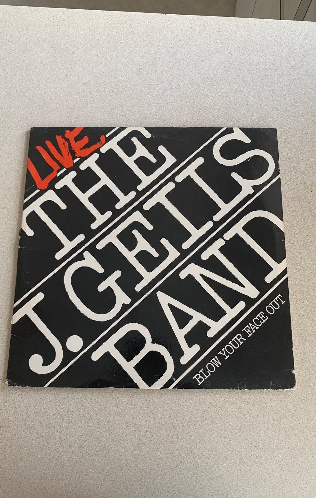 The J Geils Band Blow Your Face Out Viny