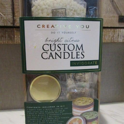 Bright Citrus Custom Candle Making Kit
