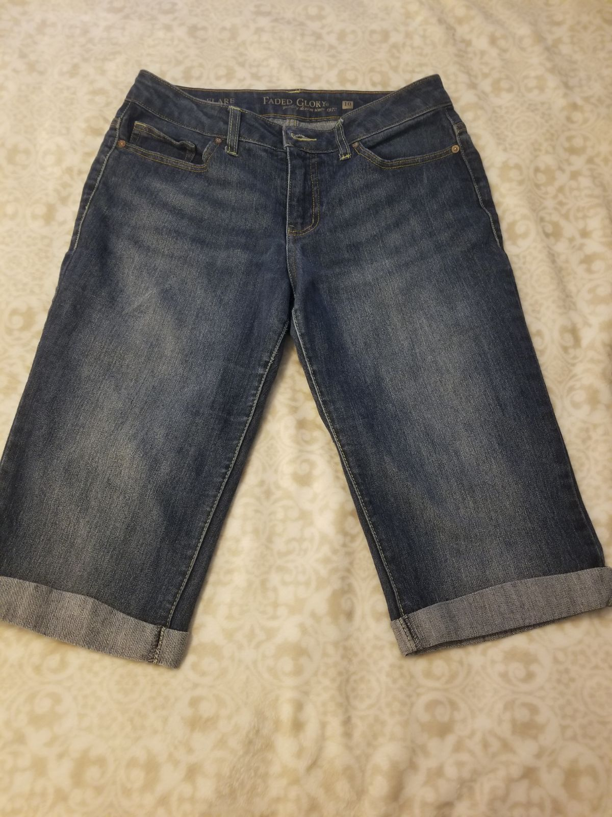 Women's Bermuda denim Jean's size 10