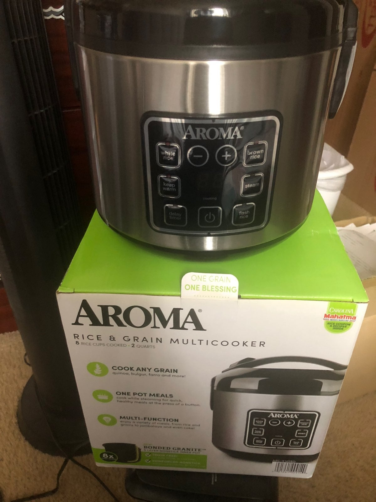 Rice grain multicooker