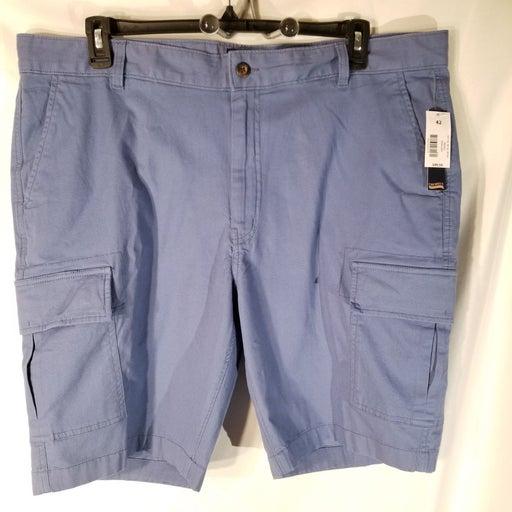 MENS CREMIEUX CARGO SHORTS BLUE Size 42