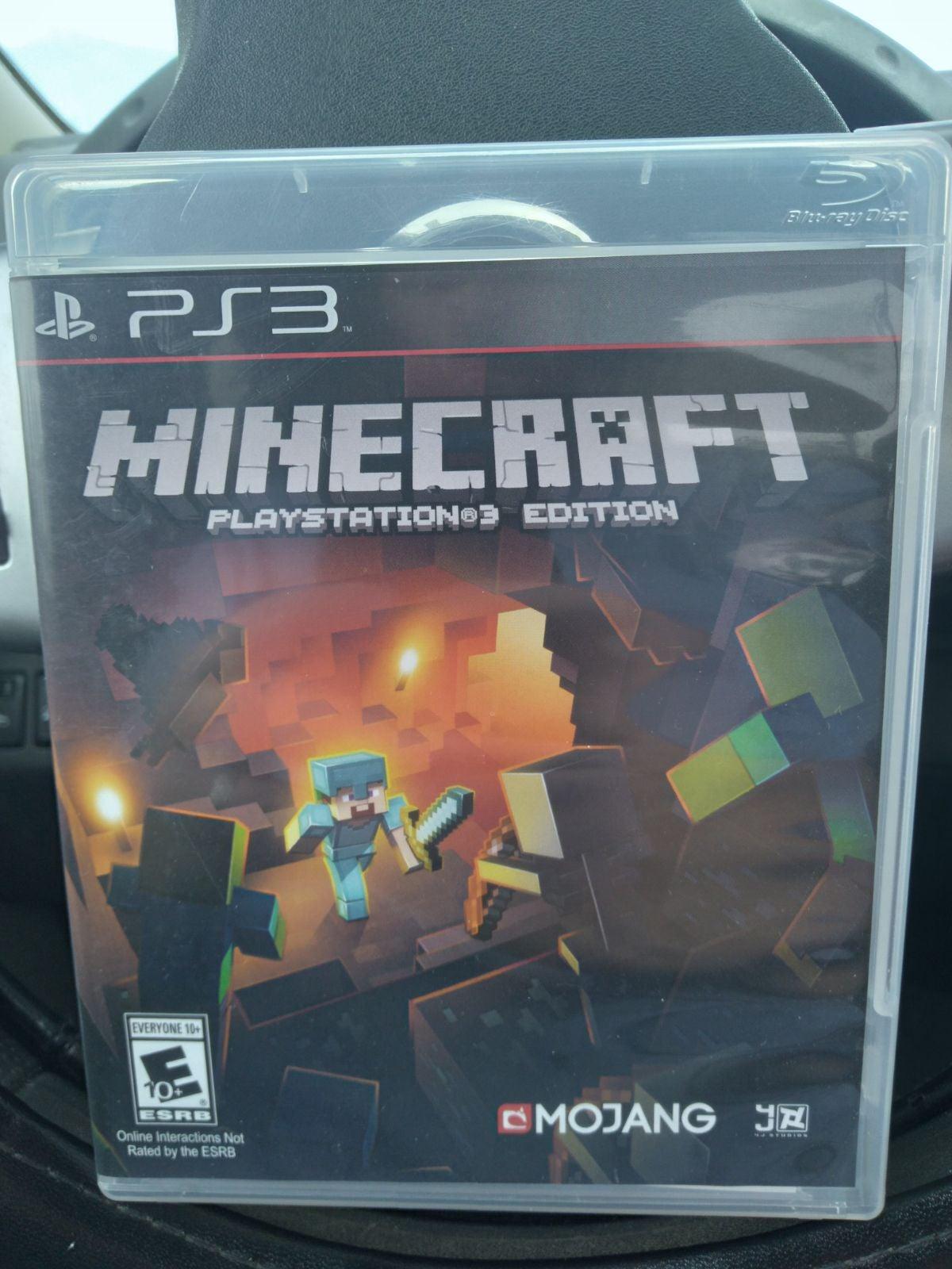 Minecraft PlayStation 3 Edition PS3