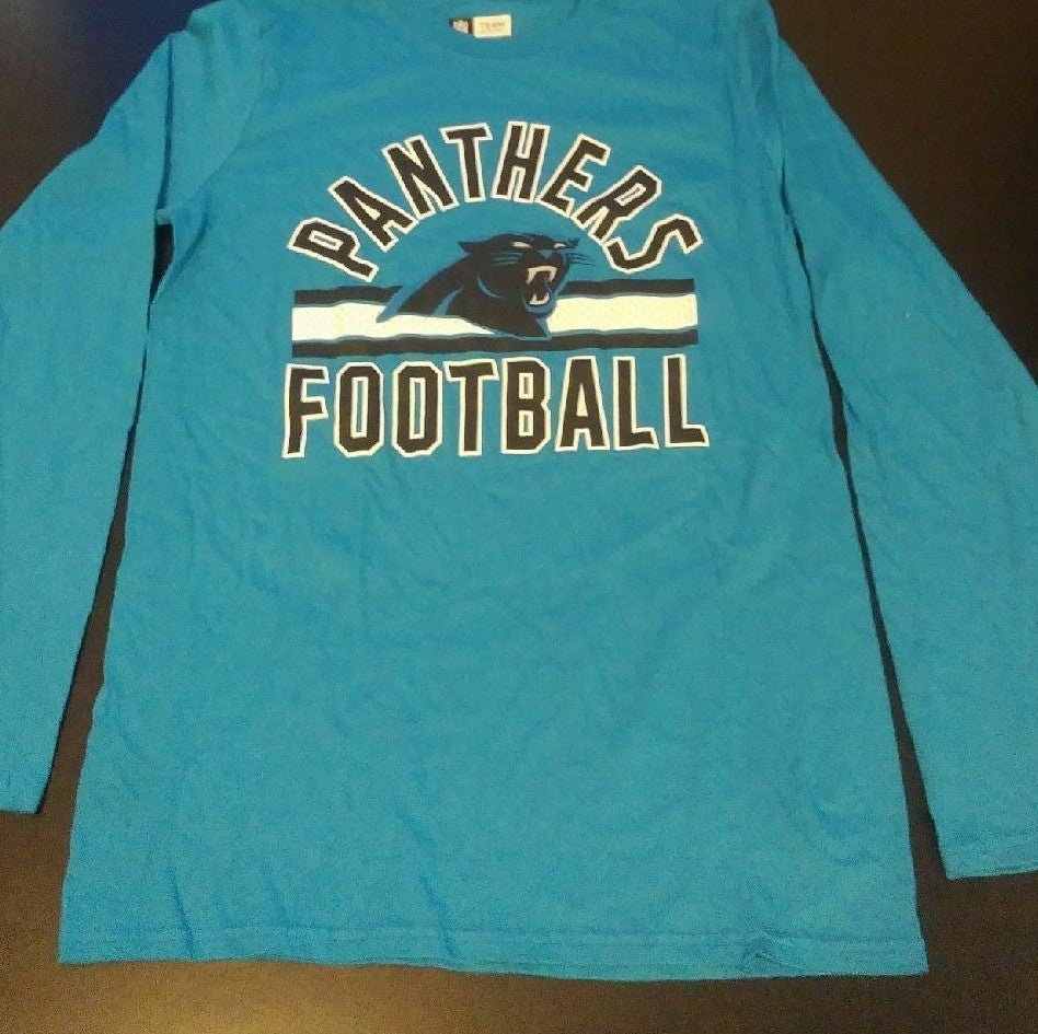 Carolina Panthers Long Sleeve T-shirt Sz