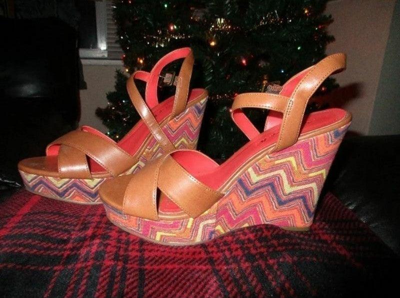 Woodstock Style Platform Shoes