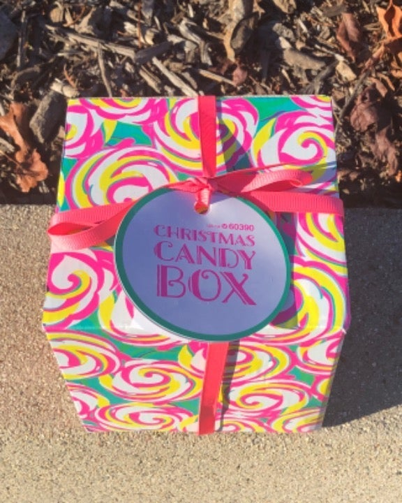 Lush Christmas Candy Box